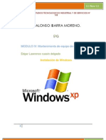 Resumen 1 Instalacion de Windows