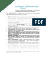 10 reglas heurísticas de usabilidad de Jakob Nielsen