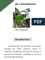 aula 01 - Introdu+º+úo a Biocombust+¡veis
