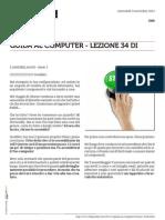 Guida al Computer - Lezione 34