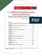 11 Medical Breakthroughs
