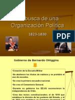 01 en Busca de Una Organización Política