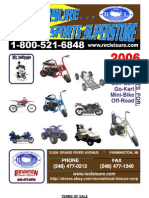 Rec Leisure Minibike Catalog 2006