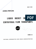 Liquid Rocket Engines Centrifugal Flow Turbo Pumps