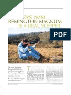 7mm rem mag | Cartridge (Firearms) | Rifle