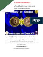 FAQ on Macedonia