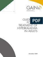 Hyperkalaemia Guidelines