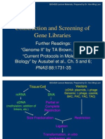 Gene Libraries 1