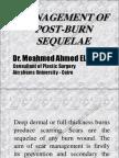 Management of Post Burn Sequelae