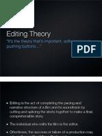 Editing Theory Pt1