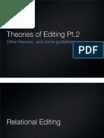 Editing Theory Pt2