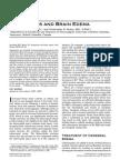 Aqua Por Ins and Brain Edema