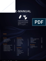 Samsung UN55D7000LF Manual