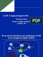 IL-6 and RA Julio 08