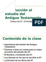 Introducción Al Estudio Del Antiguo Test Amen To