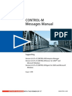 CONTROL-M Messages Manual