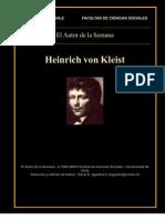 Heinrich Von Kleist - El Terremoto en Chile