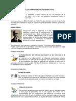 LOS 14 PRINCIPIOS DE LA ADMINISTRACIÓN DE HENRY FAYOL