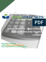 Rotina Financeira – Área Comercial