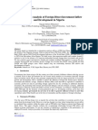 7.[56-66]Co-Integration Analysis of Foreign Direct Investment Inflow and Development in Nigeria