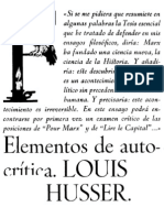 Althusser Elementos de Auto Critic A OCR