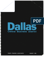 Dallas Central Business District, August 1969