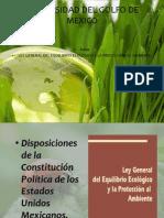 Exp. Ley General Ecologica - Arq. Paisaje