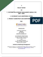 Project Report of Summer Internship Program