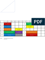 Timetable Bcns