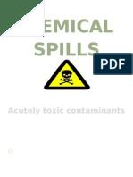 Edn- Chemical Spills