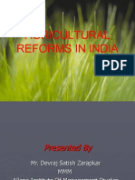 53211076 Agricultural Reform in India Zarapkar