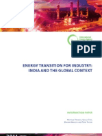 India Industry Transition