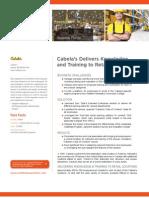 Cabelas Case Study