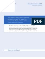 AMR - The Product Lifecycle Management Market Sizing Report 20072012 08-07-16_tcm52-67669