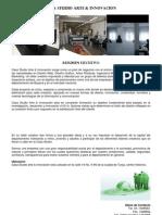 Plan de Negocios - Casa Studio Arte & Innovacion