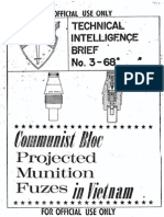 Technical Intelligence Brief No-3-68 Communist Bloc Projected Munition Fuzes Vietnam-1968