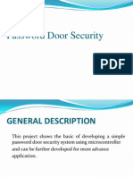 Password Door Security