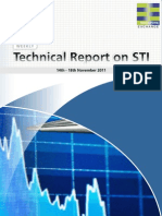 Weekly Technical Report on STI (14th - 18th Nov 2011)