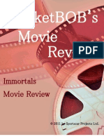 Immortals MarketBOB Movie Review