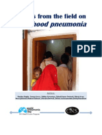 Voices From the Field on Childhood Pneumonia