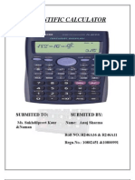 Scientific Calculator 111