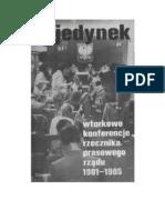 Urban, Jerzy - Pojedynek Wtorkowe Konferencje Rzecznika Prasowego Rzadu 1981-1985 - 1985 (Zorg)