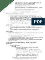 Conditii Tehnice Pentru Functiile de Protectie Ale Releelor Multi Function Ale Din Celulele de Medie Tensiune Tip ACELA