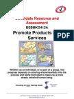 1260714855BSBMKG413A Candidate Resource