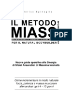 Miass 2 (Il Nuovo Metodo Di to Con I Pesi Per I Natural)Body Building