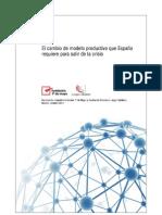 Cambio de Modelo Productivo para España