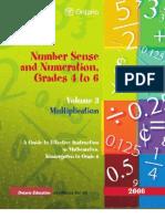 Math Strategy NSN Vol 3 Multiplication