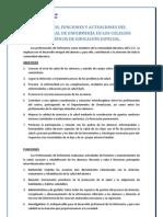 Objetivos Funciones y Actuaciones CEE