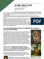S XVII.AustriasMenores.econ.ySdad.sigloOro