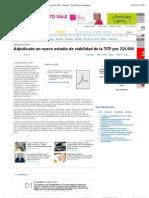 Adjudicado un nuevo estudio de viabilidad de la TCP por 225.000 - Aragón - El Periódico de Aragón